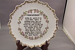 Friendship Collector Plate