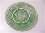 Consolidated Glass Five Fruits Plate - Green