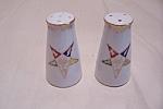 Occupied Japan Fraternal Salt & Pepper Shaker Set