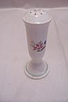 Vintage Porcelain Floral Design Pepper Shaker