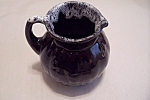Phoenix, Az Black Pottery Cream Pitcher