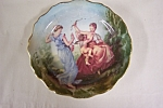 French Art Collector Plate