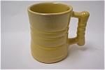 Yellow Frankoma Mug