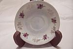 Vintage Floral Pattern Saucer