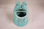 Mccoy Turquoise Lovebirds Planter