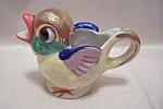 Occupied Japan Handpainted Bird Cream Pitcher