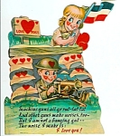 Vintage Postcards & Greeting Cards: Valentines Day: Wwii