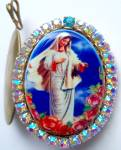 Special Request God Box Locket Our Lady Of Peace Medjugorje