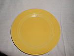 "Harlequin 10"" Yellow Dinner Plate"