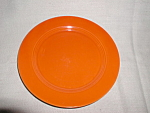 "Harlequin 7"" Red Salad/ Bread & Butter Plate"