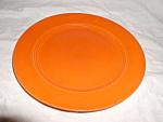 Harlequin Red Dinner Plate