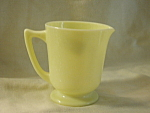 Mckee Yellow Graduated Batter Jug