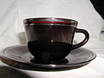 Royal Ruby Cup & Saucer