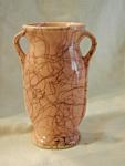Pink Spiderweb Vase