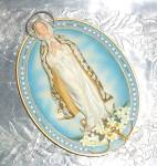 Our Lady Of Hope Wall Plaque Vintage Religious Blessed Mother Ltd