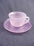 Consolidated Catalonian Amethyst Cup & Saucer