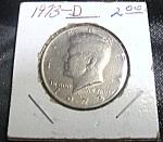 Kennedy Half Dollar 1973-d