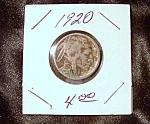 Indian Head Buffalo Nickel 1920