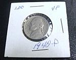 Jefferson Nickel 1940-p Vf
