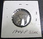 Jefferson Nickel Wartime 1944-p Silver