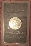 Eisenhower 1971 Proof Silver Dollar.