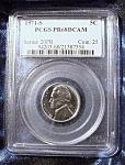 Jefferson Nickel 1971-s Pr68cam Pcgs Certified.