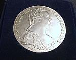 1780 Maria Theresa Thaler Restrike Austrian Coin