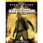 Nicolas Cage. National Treasure. Widescreen. Dvd
