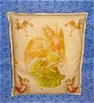 Decorative Art Print Throw Pillows Shabby Victorian Angels