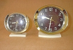 Westclox Style 9 Big Ben & Baby Ben Matched Set Alarms