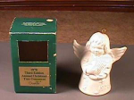 Goebel 1978 Third Edition Annual Christmas Tree Ornament White Angel