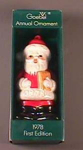 Goebel 1978 First Edition Annual Ornament Santa
