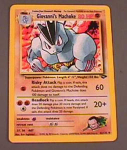 Giovanni's Machoke Uncommon #42