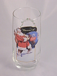 Vintage Coca Cola Coke Santa Glass Number 1 Series Ii
