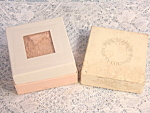 Vintage Beauty Counselor Face Powder Mint In Box