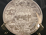 Vintage Arizona The Copper State Collector Plate