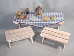 Lot Enesco Anne Geddes Picnic Tables Accessories