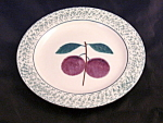 Hartstone Fruit Salad Plum Salad Plate 2 Pieces