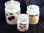 Hartstone Fruit Salad Canister Set
