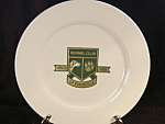 Vintage Kennel Club Of Evansville Indiana Homer Laughlin Plate