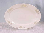 Knowles, Taylor And Knowles China Large Platter