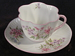 Shelley Stocks England Bone China Oleandar Cup Saucer