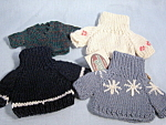 Four New Sweaters For Ganz Bears
