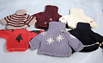 Six New Sweaters For Ganz Bears