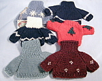 Six Ganz Bear Sweaters