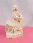 Antique Germany China Bookend Victorian Gentleman