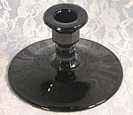 Antique Black Amethyst Candle Holder Cambridge