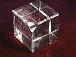 Vintage Elegant Baccarat Glass Crystal Paperweight