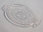 Duncan And Miller Sandwich Crystal Cream Sugar Tray