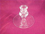 Heisey Glass Mercury Crystal Candle Holder